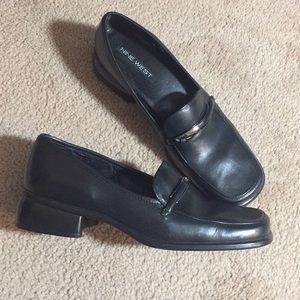 Nine West Black Loafers